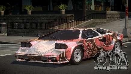 Lamborghini Countach Qz S1 para GTA 4