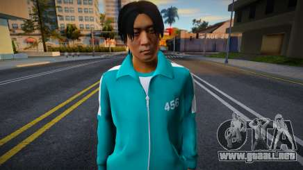 Male Random Tracksuit 456 Squid Game para GTA San Andreas