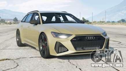 Audi RS 6 Avant (C8) 2019〡add-on v1.0 para GTA 5