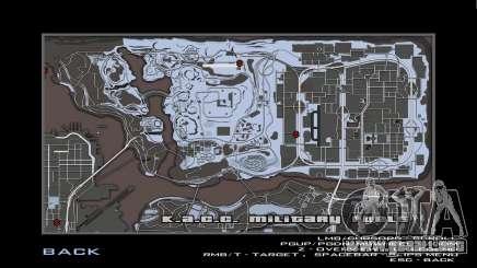 Mapa gris y radar para GTA San Andreas