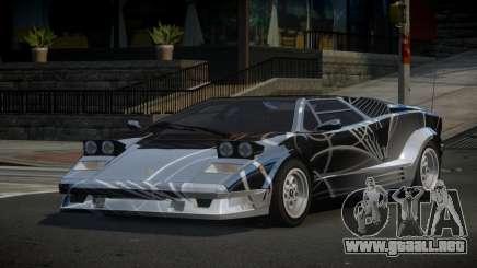 Lamborghini Countach 25th S6 para GTA 4