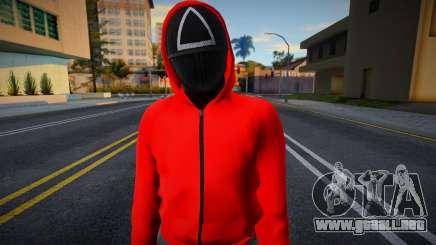 Male Random Guard N2 Squid Game para GTA San Andreas