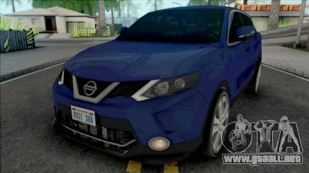 Nissan Qashqai 2015 Lowpoly para GTA San Andreas