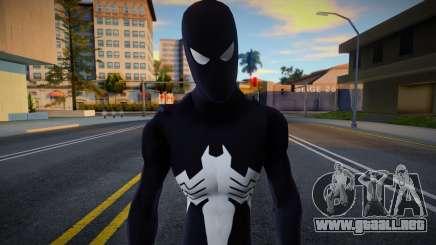 Spiderman Web Of Shadows - Black suit para GTA San Andreas