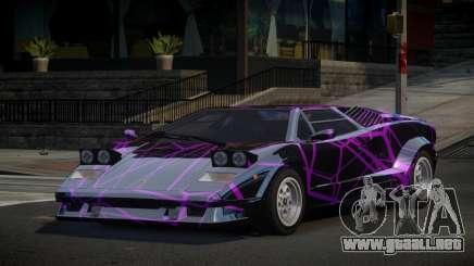Lamborghini Countach 25th S5 para GTA 4