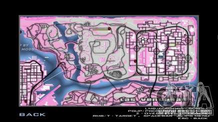Pink map para GTA San Andreas