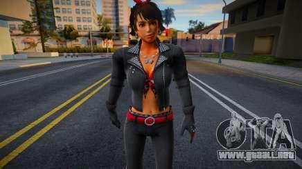 Josie Biker from Tekken para GTA San Andreas