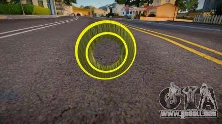 Yellow Tron Legacy - Knuckle para GTA San Andreas