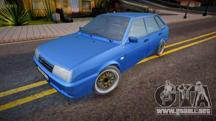 VAZ 2109 v.2.0 para GTA San Andreas