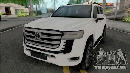 Toyota Land Cruiser 2022 para GTA San Andreas