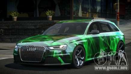 Audi RS4 U-Style S1 para GTA 4